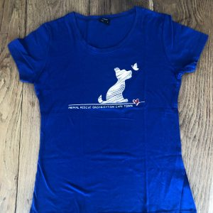 Blue puppy t-shirt