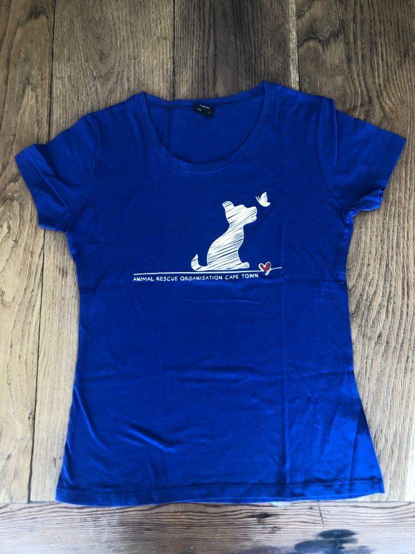 Blue puppy t-shirt
